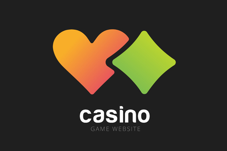 Casino Logo Icon  Casino Poker  Cards Or Casino Game And Money     Casino poker  cards or casino game and money  Casino vector icons  Casino  games  Casino cards  Game cards  Playing casino games  Heart logo  heart  icon