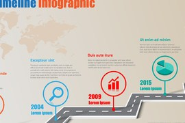 Grabs Full Pixels » Design Template  Road Map Timeline Infographic Brochure Diagram     Design template  road map timeline infographic brochure diagram planning  presentation process webpages workflow  Vector