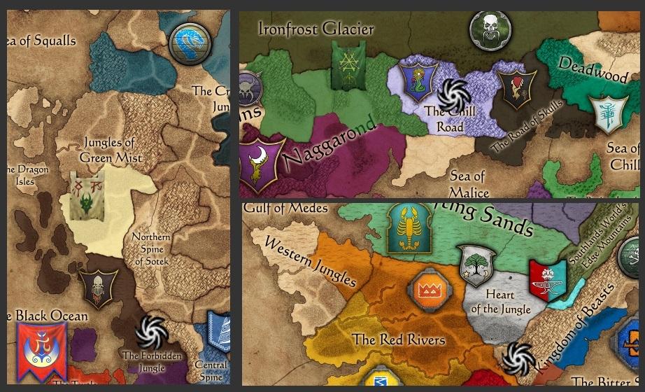 Total Eye Warhammer 2 Vortex Map War