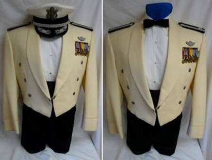 Us Army White Mess Dress Uniform Path Decorations Pictures Full