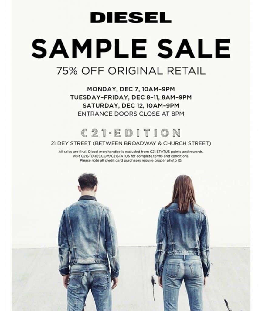 sample-sale-diesel