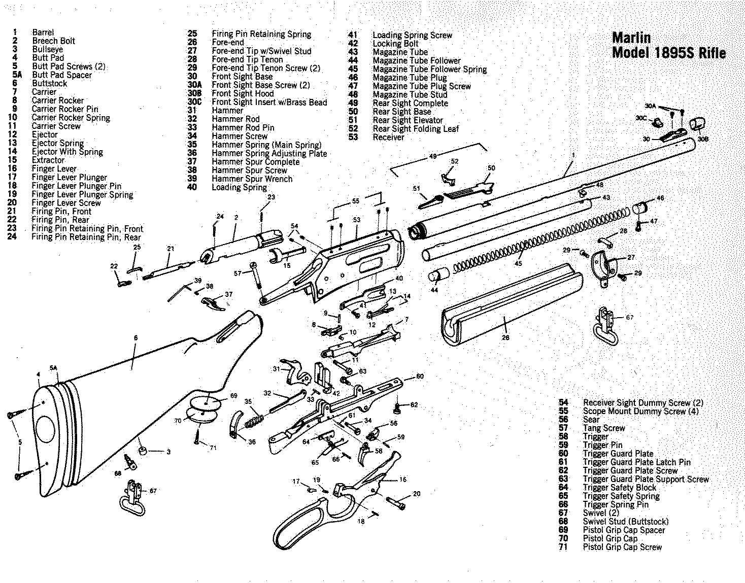 Remington 1100 Trigger Assembly Diagram Remington870partsdiagram Nylon 66 Parts
