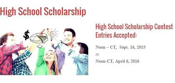 no essay scholarships 2015