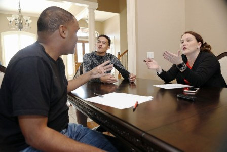 all access five star pg trae young and his family s recruiting roundtable usa today high school sports