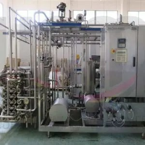 USED TUBULAR TETRA PAK® UHT PLANT, INCLUDING HOMOGENIZER