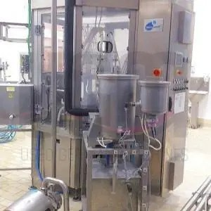 Fresh cheese filling line for cups