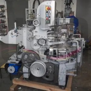 USED BUTTER FORMING & WRAPPING MACHINE