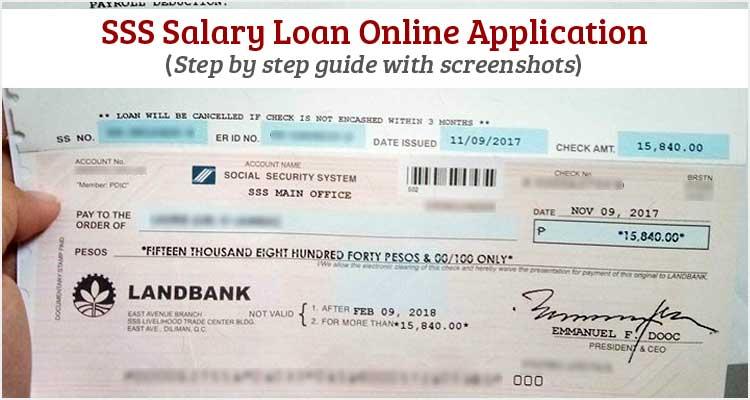 Online Sss Form Loan Application Calamity
