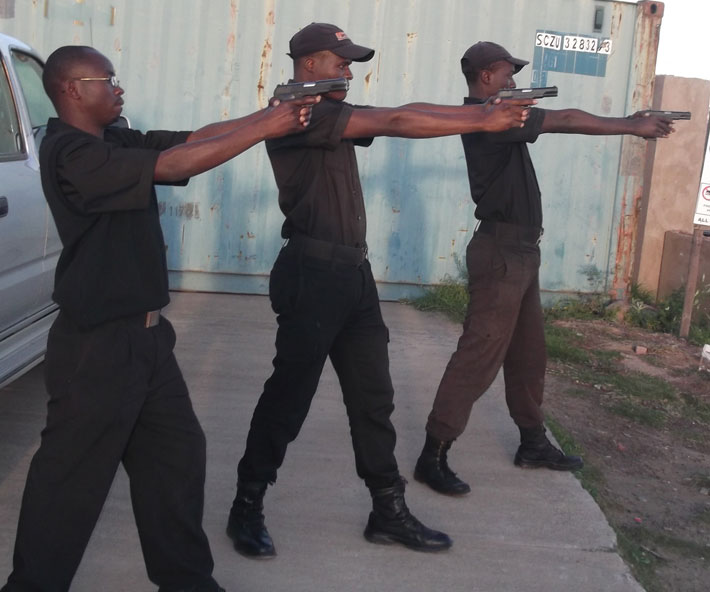 Armed Security Guard Training