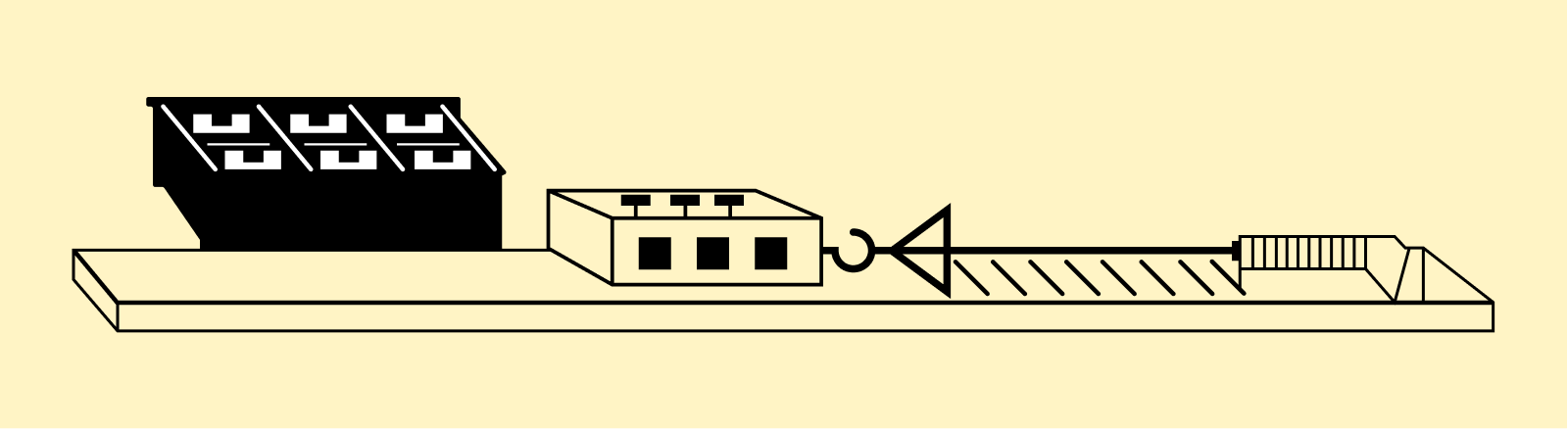 貨物との薄板