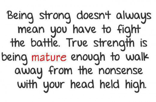 Sad Quotes About Being Strong