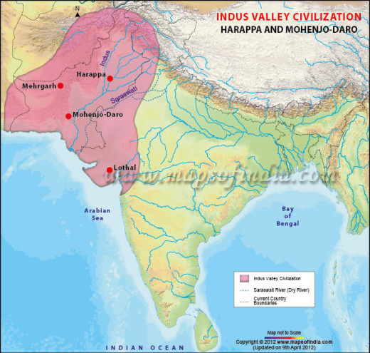 The Harappan Civilization in the Great Indus River Valley ...