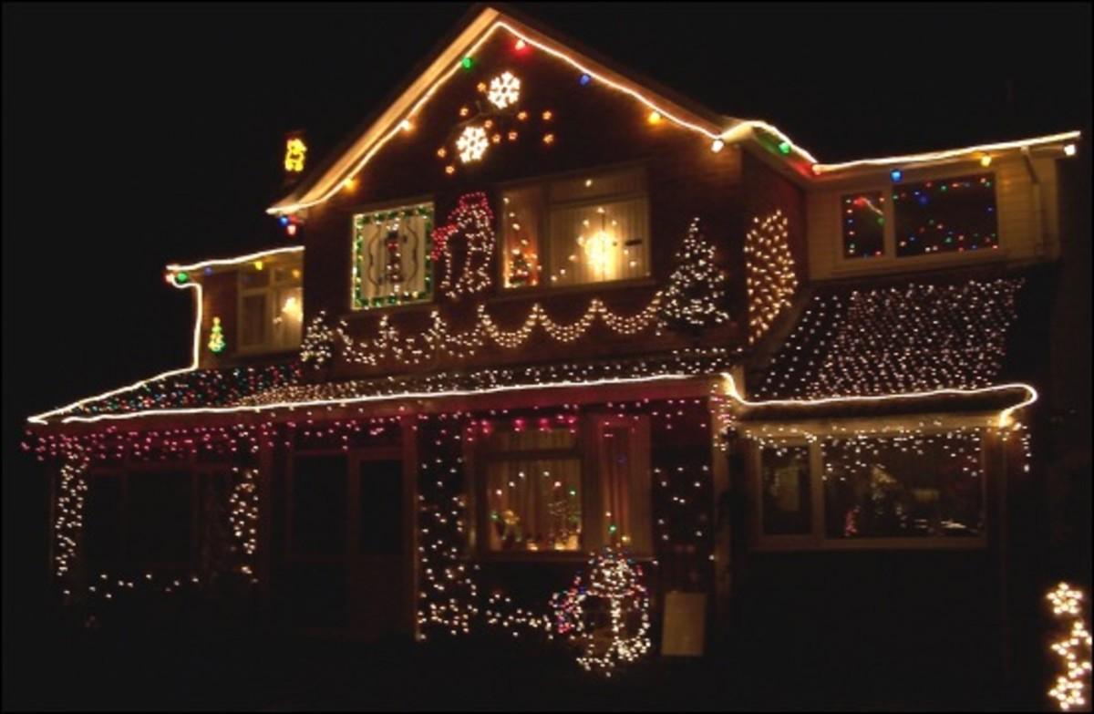 C6 Christmas Lights