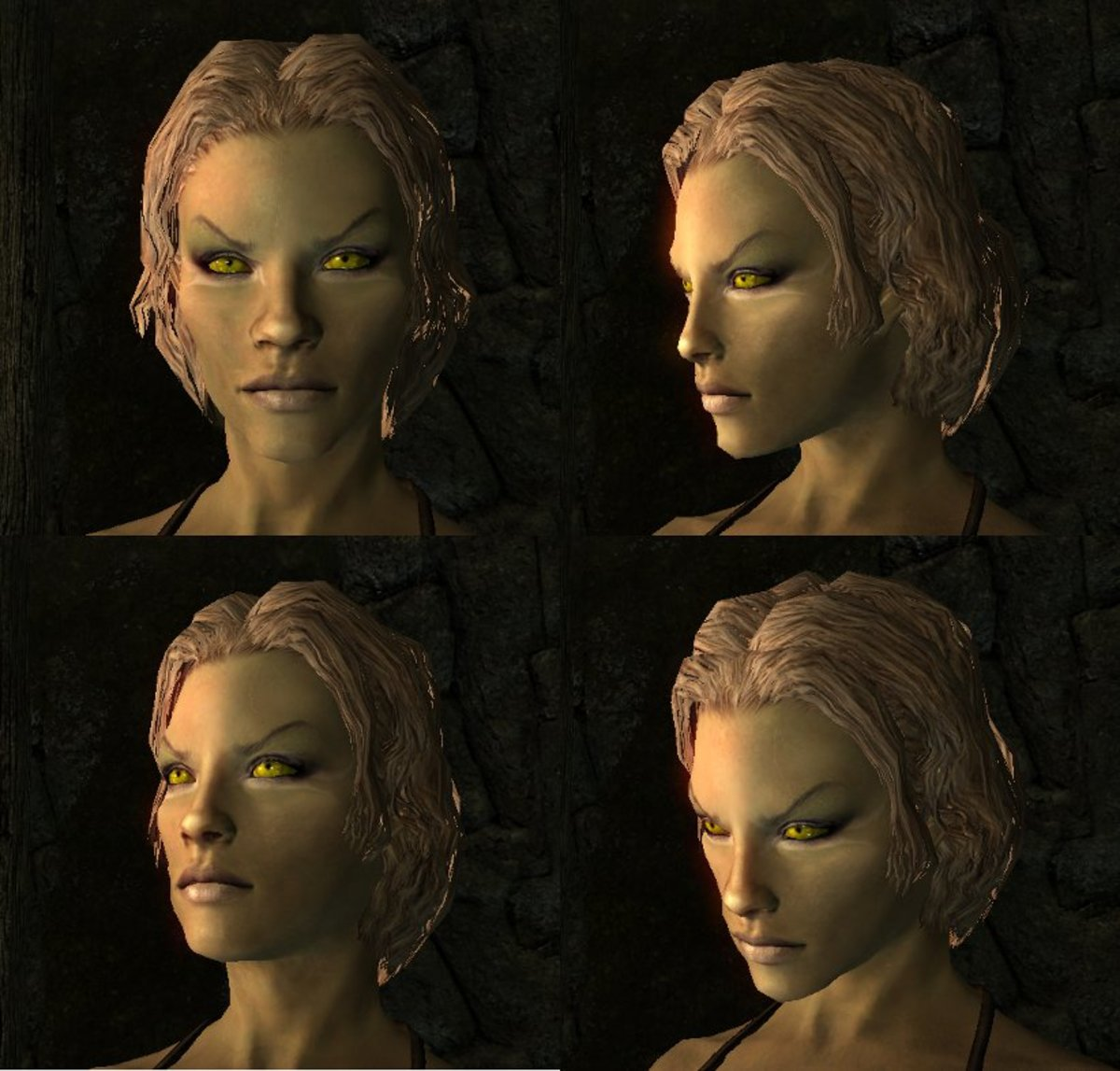 Beautiful Mods No Skyrim Characters