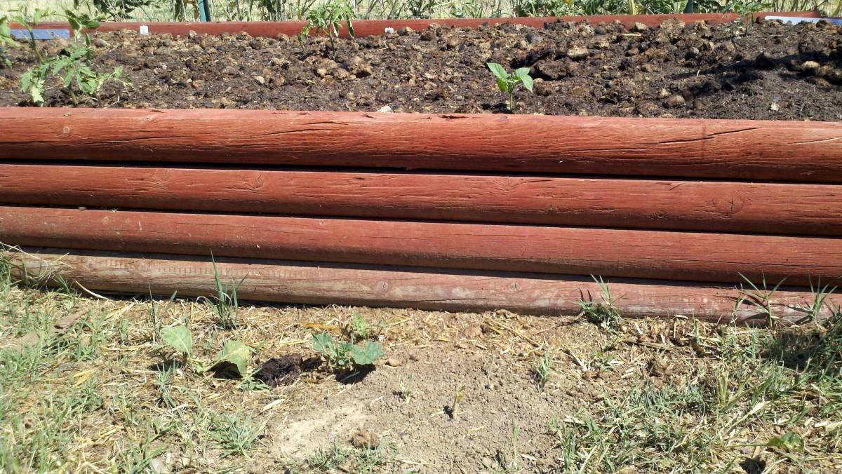 Raised Vegetable Garden Landscape Timbers