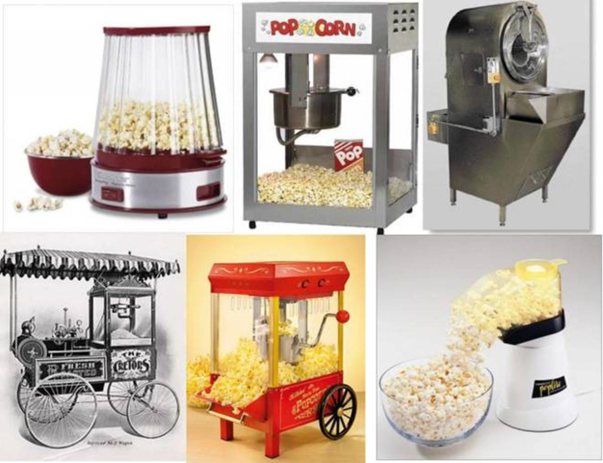 Radiation Microwave Popcorn