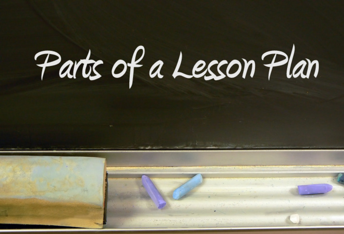 Parts of a Lesson Plan and an Effective  Easy Template   Owlcation