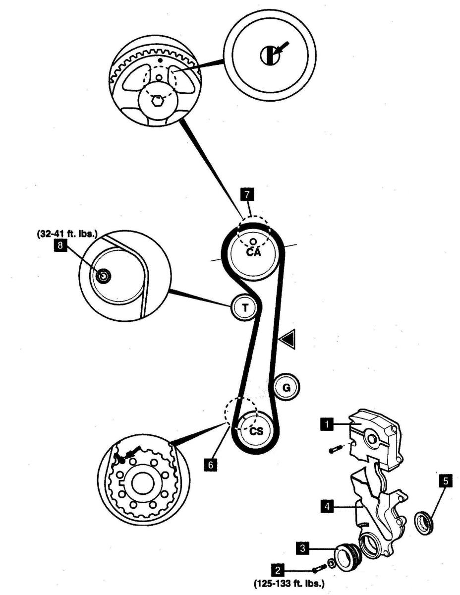 Hyundai Timing Belt Replacement 2005