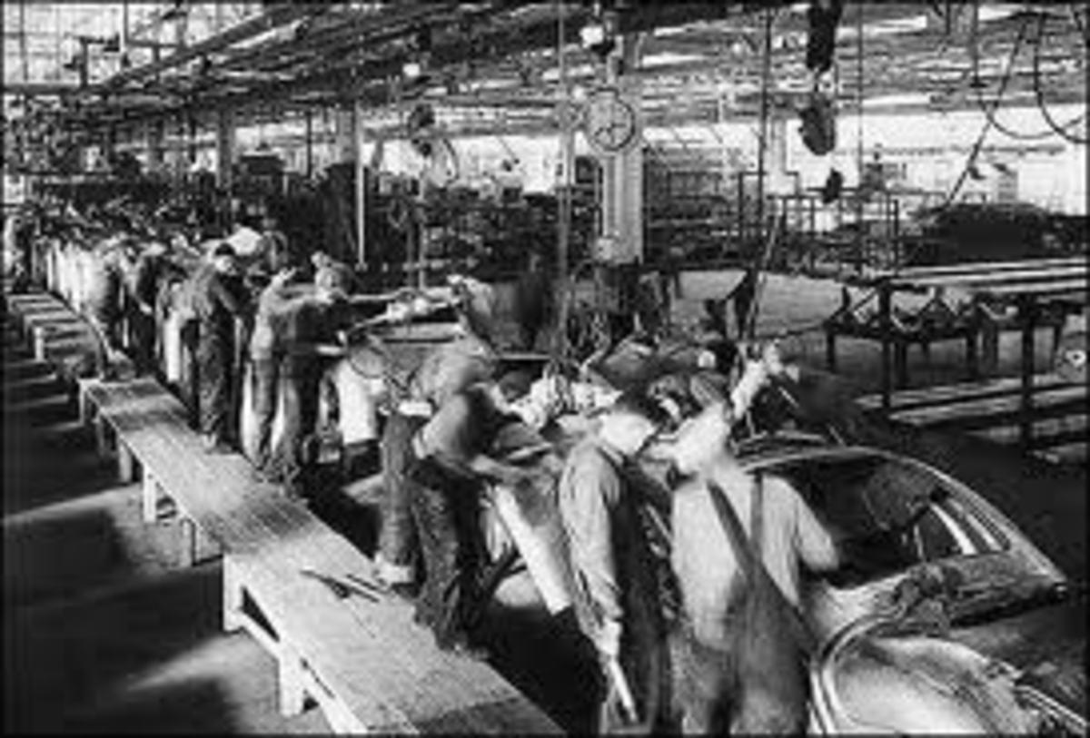 Textile Worker Industrial Revolution Factory