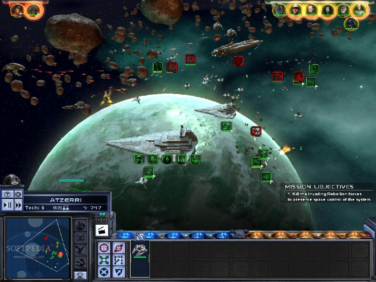 Best Space Games for PC   LevelSkip General Space Battle and Interface