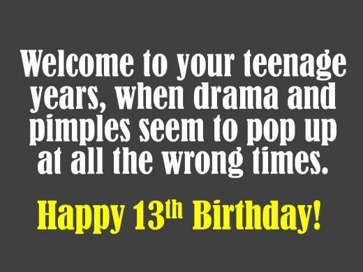 13th Birthday Quotes Son