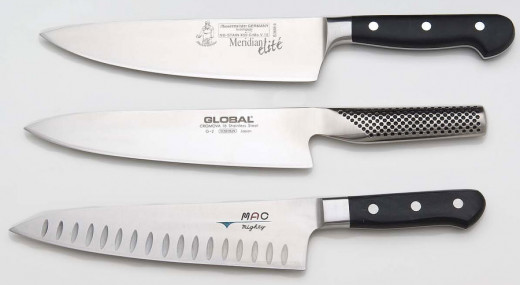 Chefs Do Kind What Use Knives