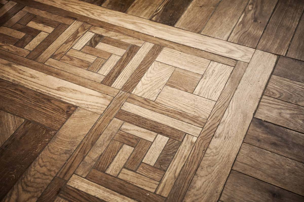 About Parquet Flooring  Types and Installation   Dengarden pattern of oak parquet flooring