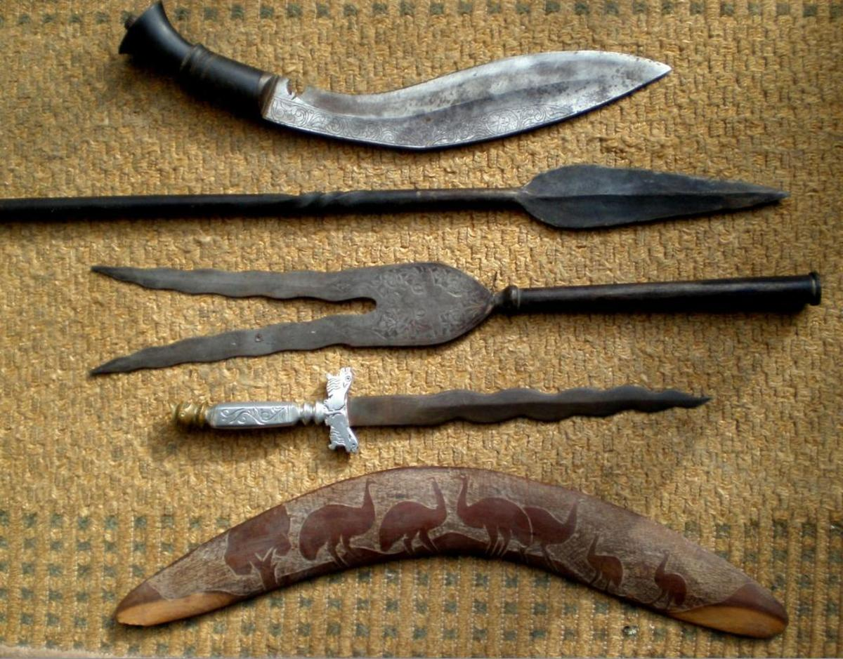 Ancient Weapons And Tools