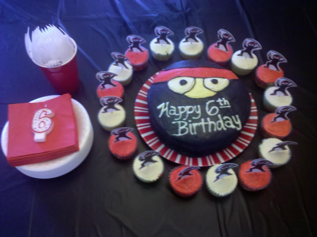 Kid S Ninja Themed Birthday Party Ideas Holidappy