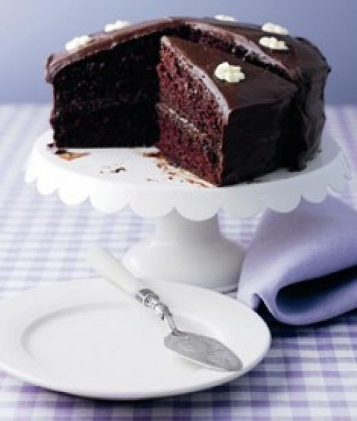 Easy Cake Recipes Chocolate Fudge