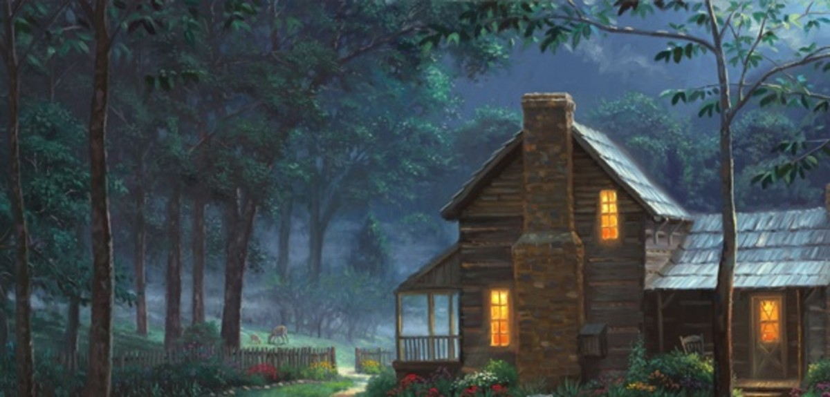 Thomas Kinkade Landscapes