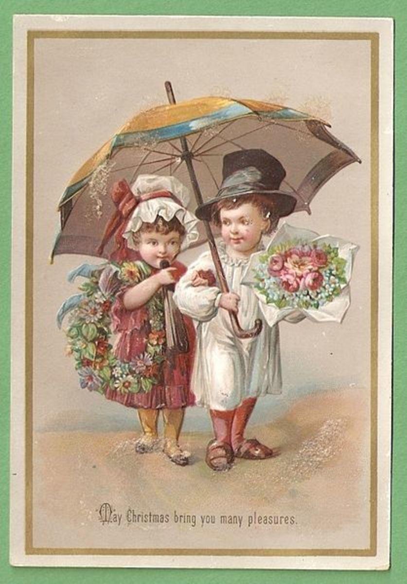 Public Domain Victorian Christmas