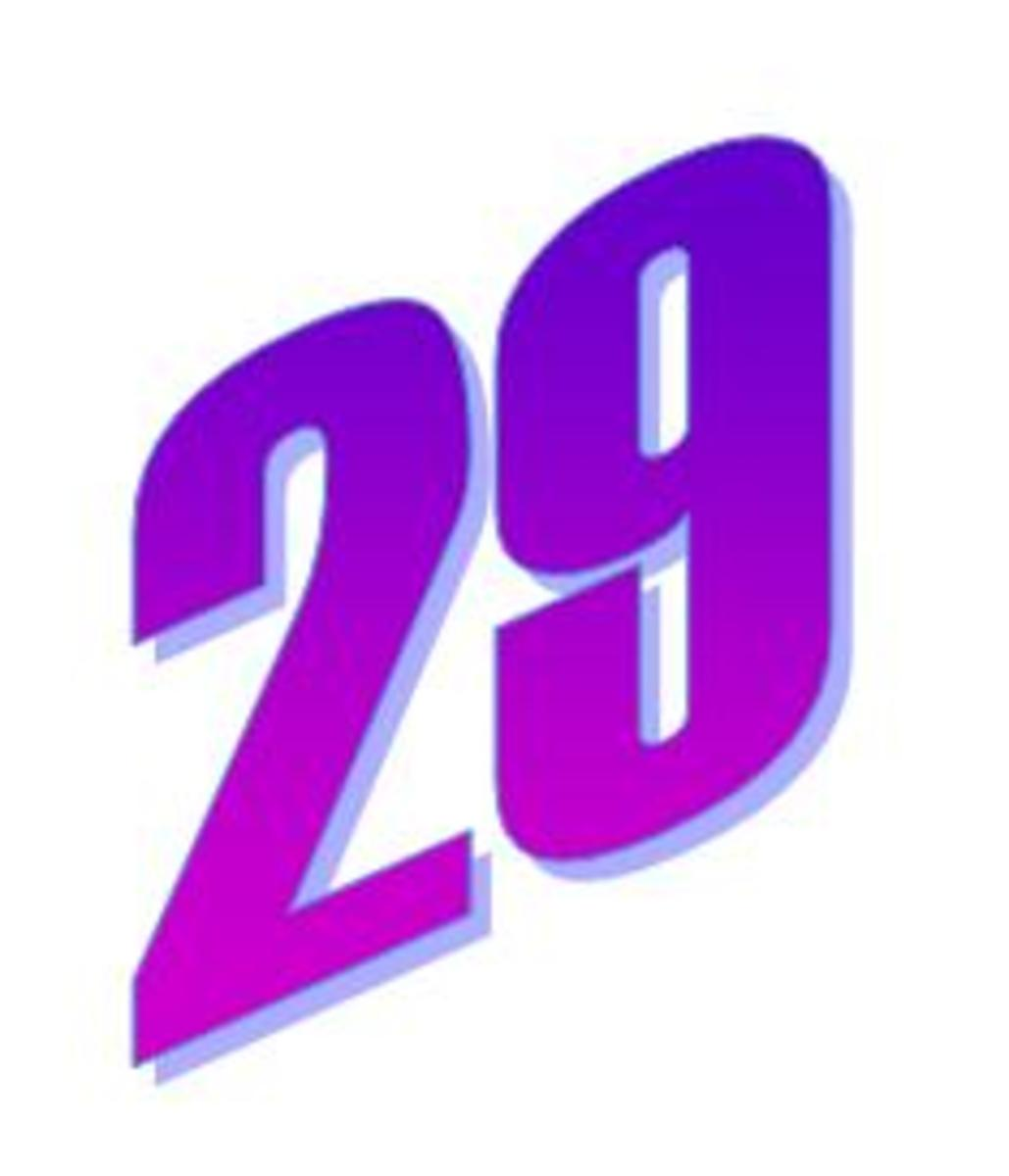 Facts about the number 29. The importance of twenty nine ...