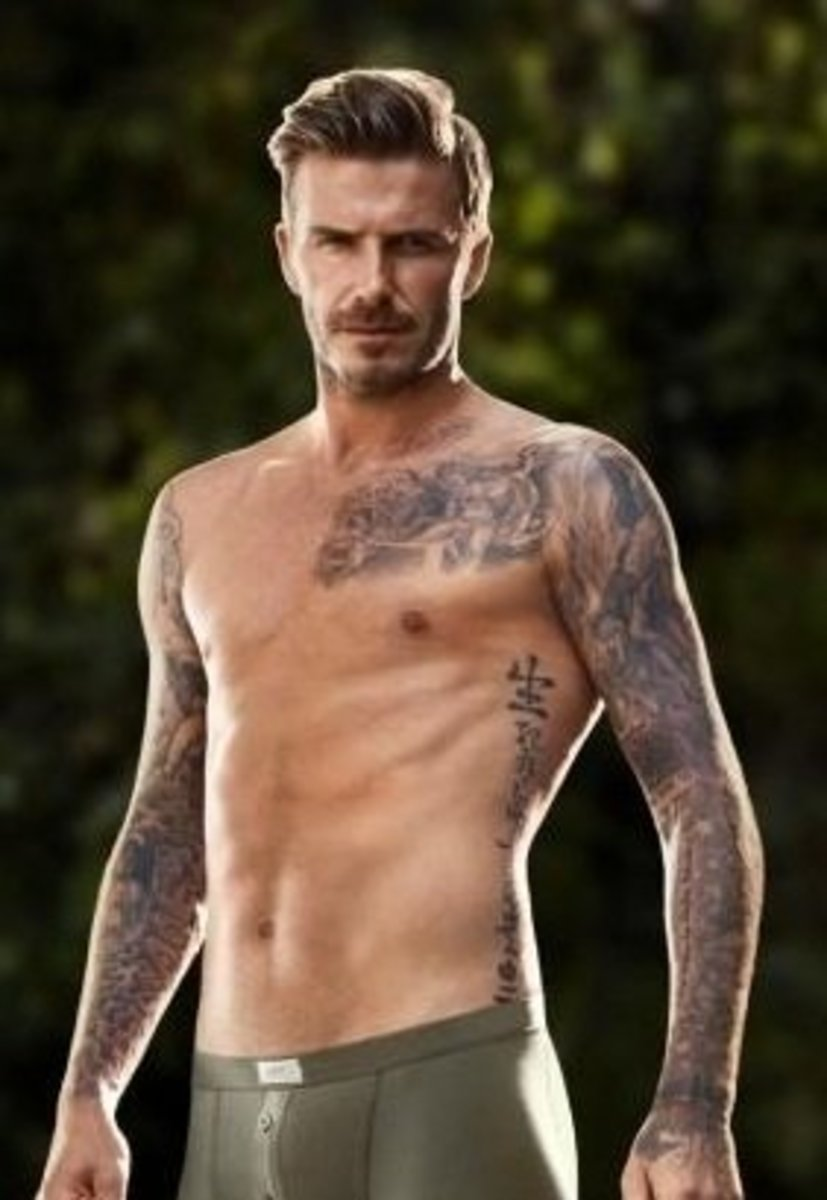 David Beckham's Tattoos | TatRing