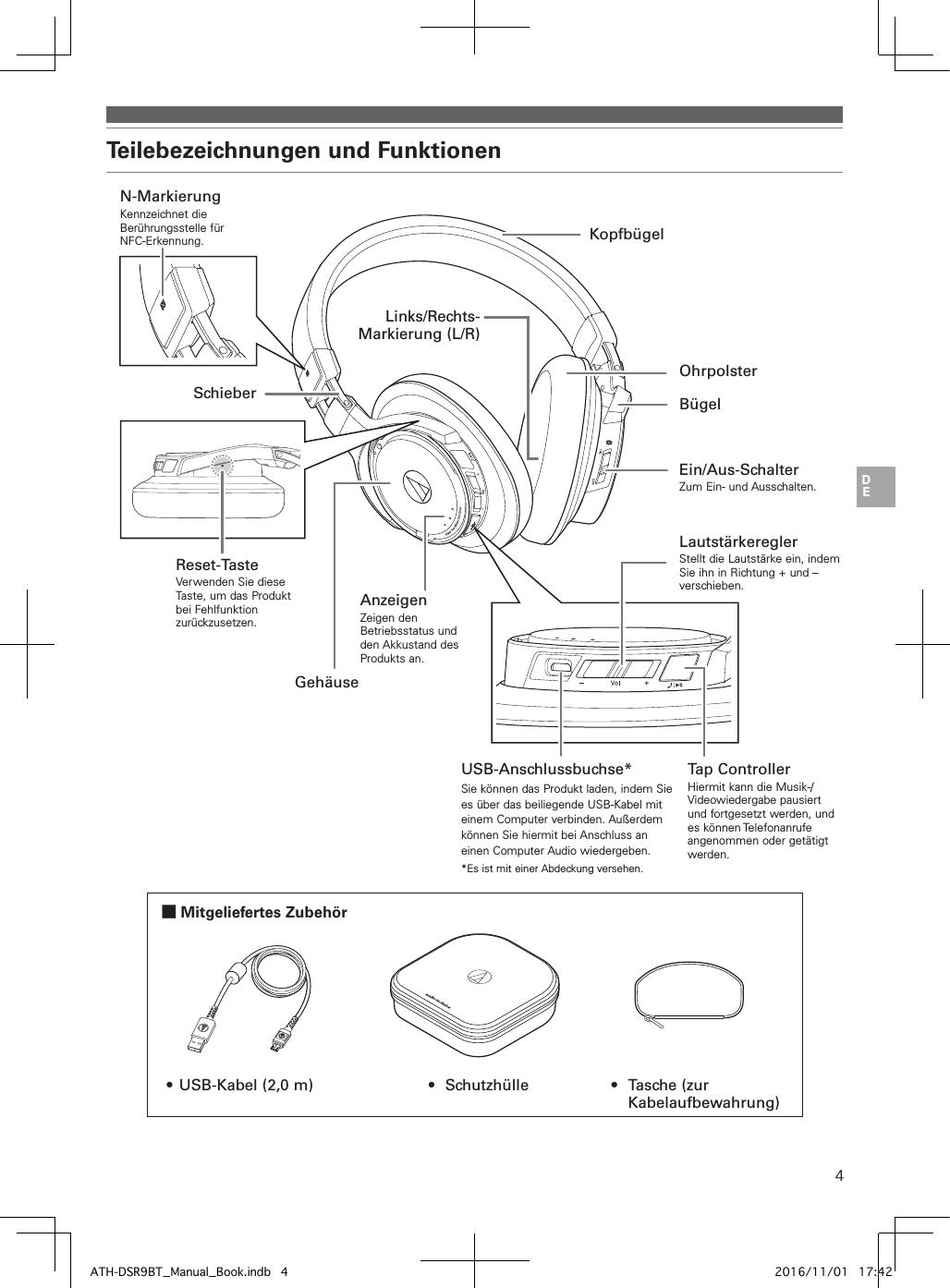 Page 55 of audio technica dsr9bt bluetooth headphones user manual ath dsr9bt manual book indb