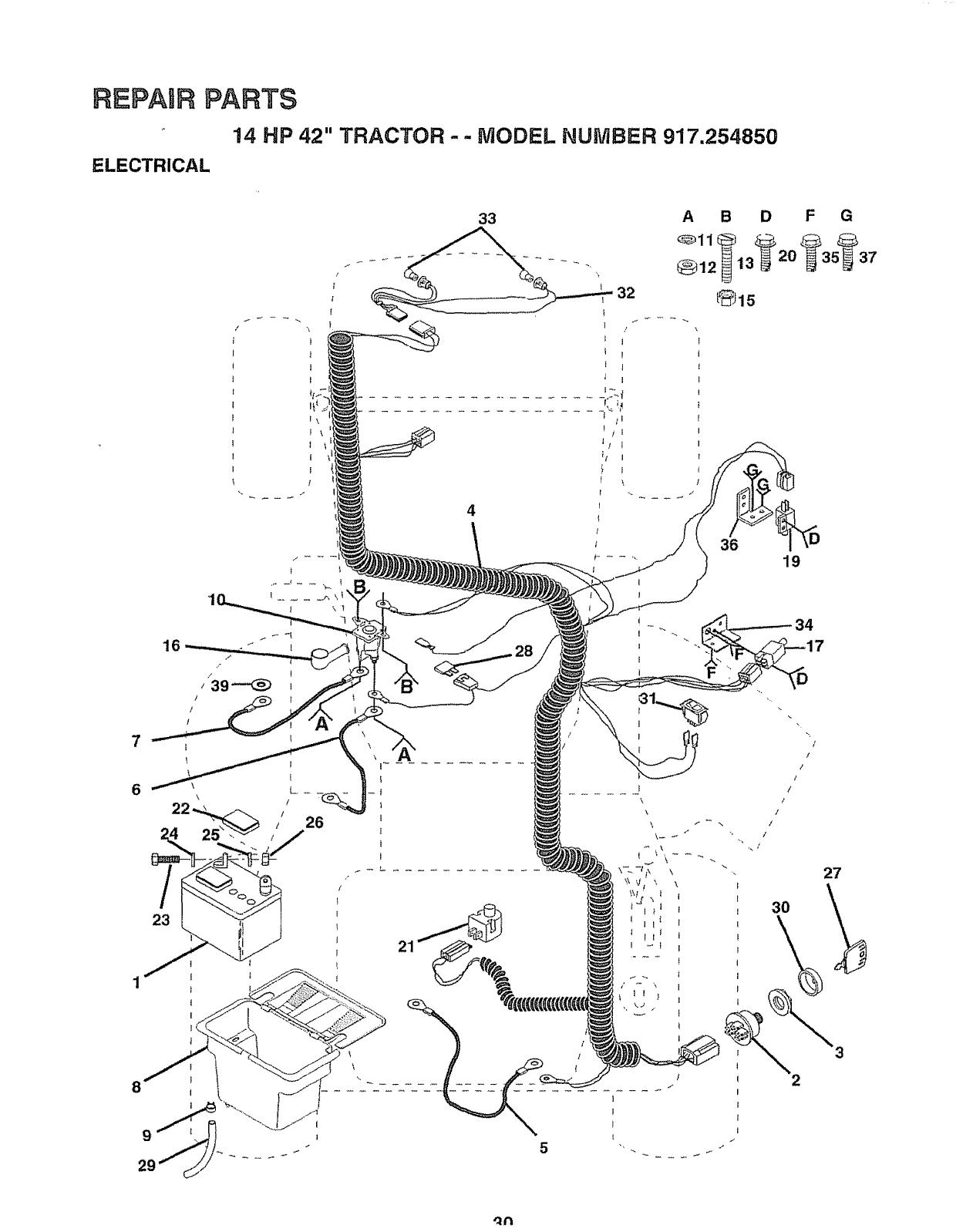 Fiat 450 Tractor Wiring Diagram