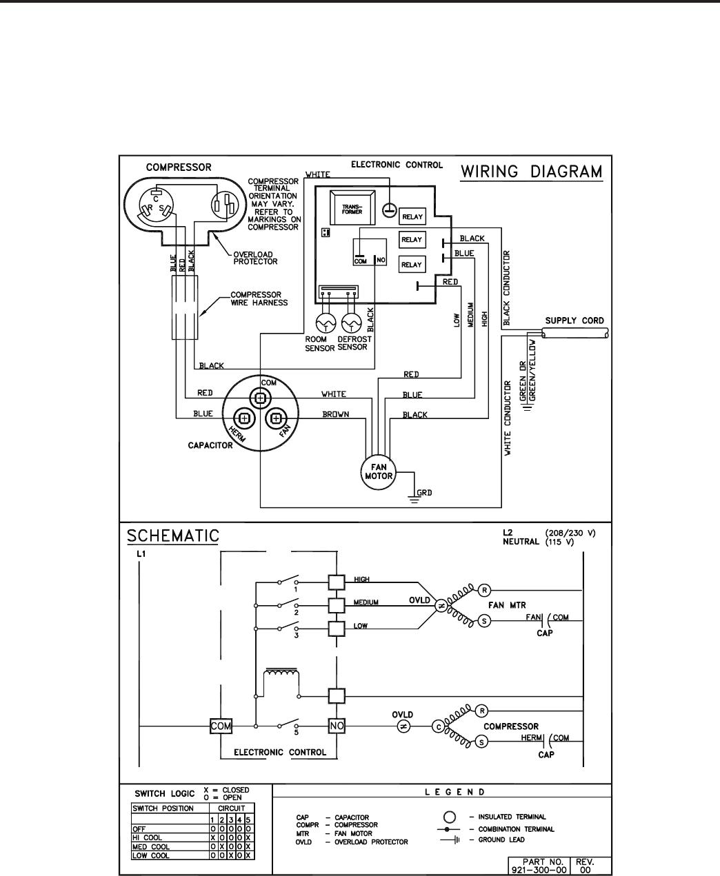 Conditioner wiring diagram friedrich wallmaster ws10b10 users manual p2kpd 1 05
