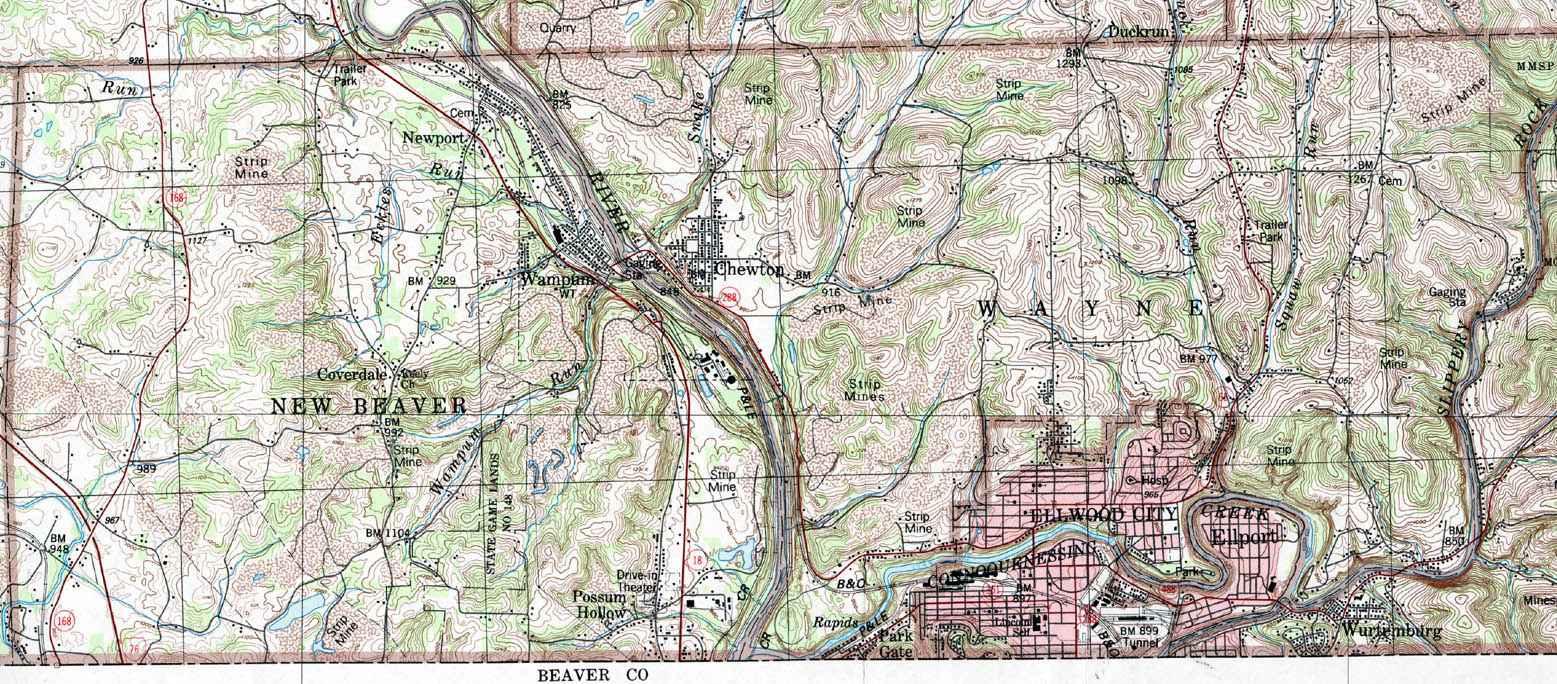 Beaver Pa Map Township