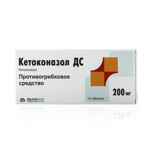 Antifungal værktøj ketokonazol.