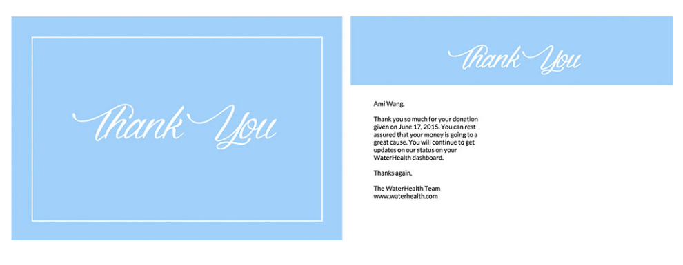 Avery 5389 Postcard Template