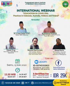 webinar International IAINU Kebuemen