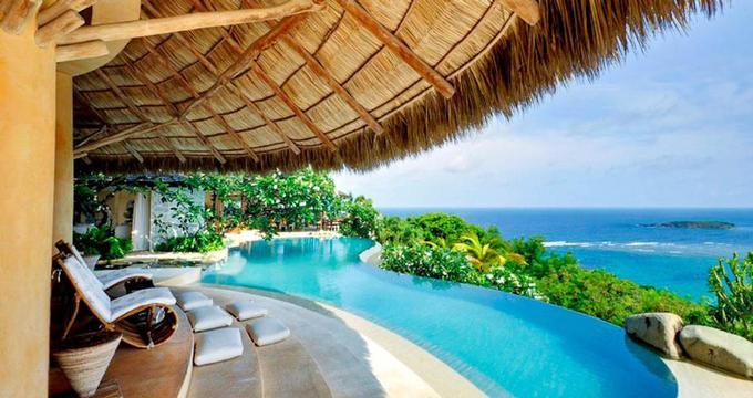 Beach Chair Umbrella Lounge