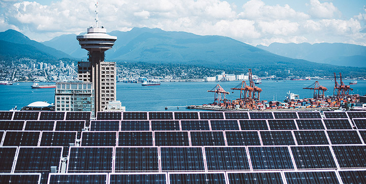 Solar Photovoltaic Panels City Of Vancouver