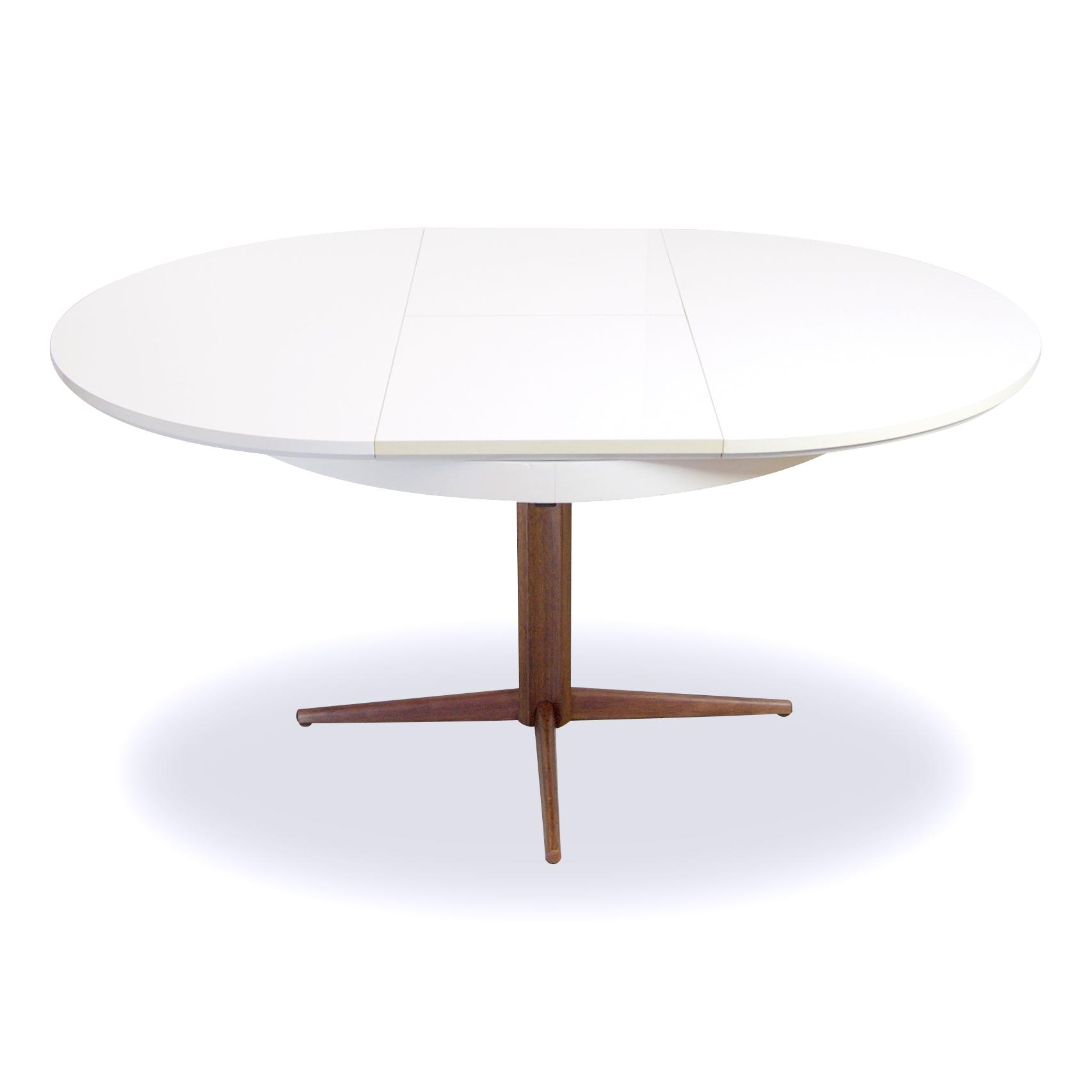 Ronde eettafel uitschuifbaar goedkope meubels goedkope