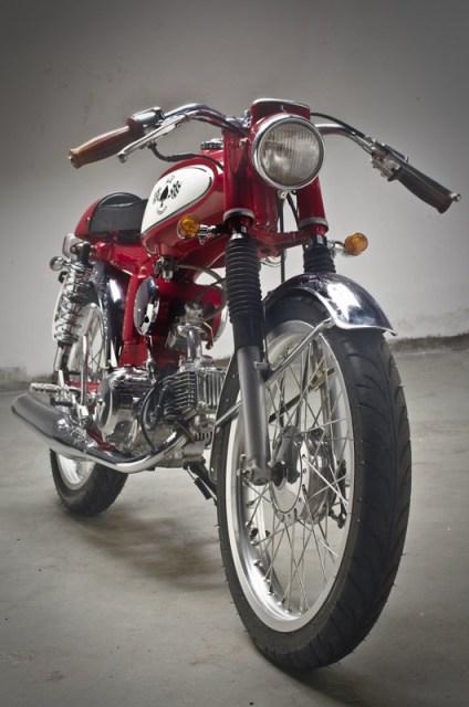 ACE Honda S90 by Island Motorcycles | Vanishing Point