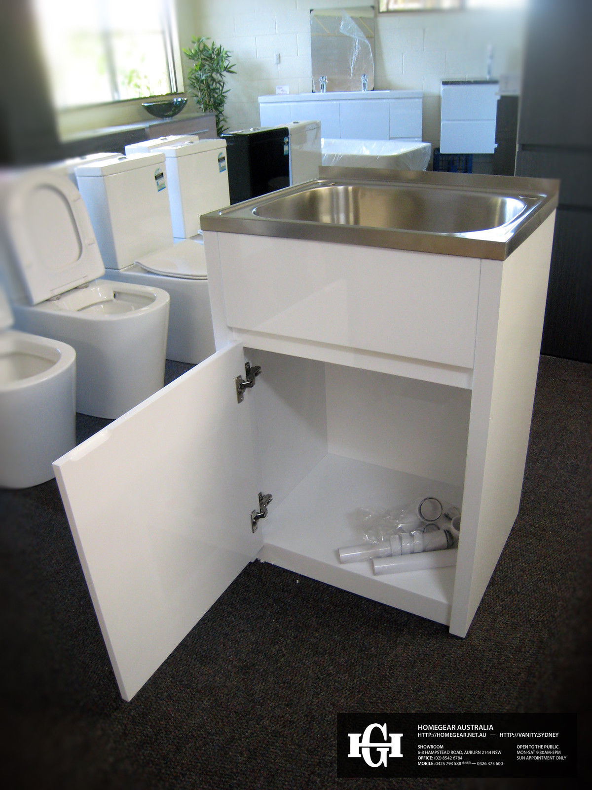 White Gloss Kitchen Unit 600mm