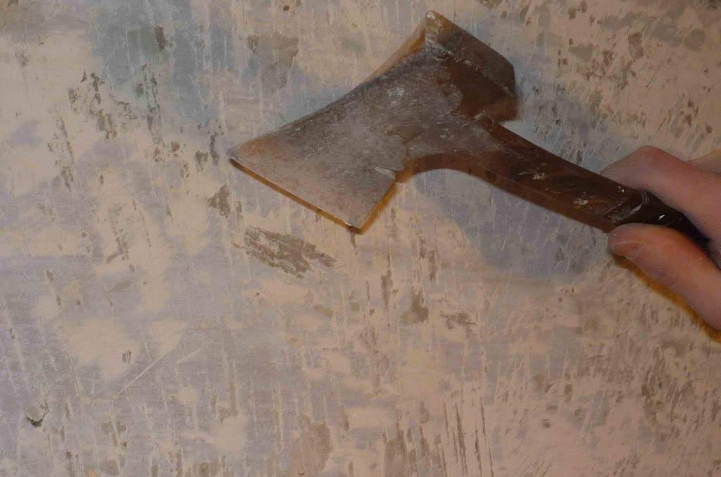 Rimuovere il vecchio rivestimento