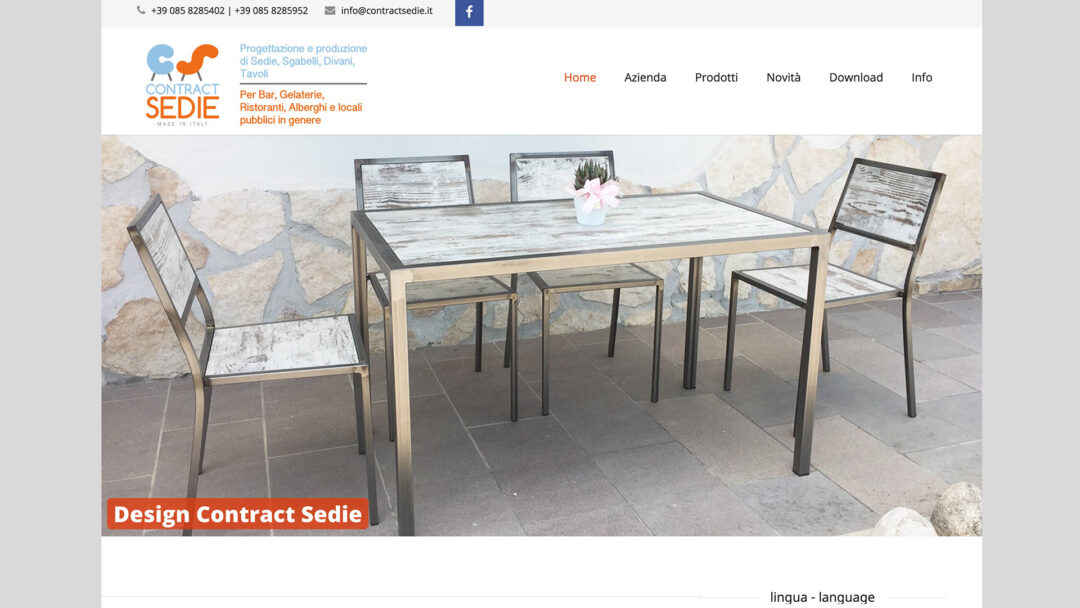 Contract Sedie forniture pescara
