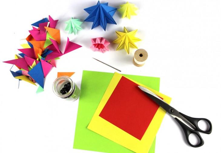 оригами мебель
