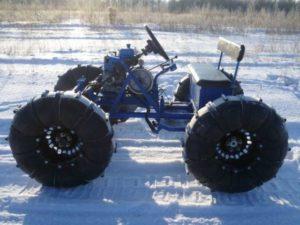 Самодельный снегоход своими руками с двигателем от мотоблока: видео, фото